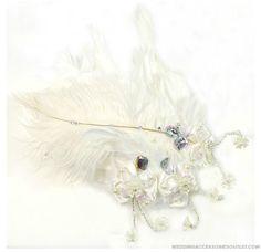 White Wedding Headpieces