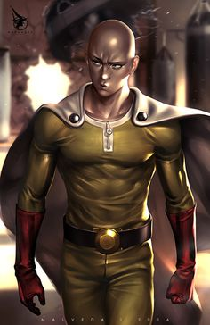 Saitama (One Punch Man) Saitama One Punch Man, Tatsumaki One Punch Man, One Punch Man Memes, One Punch Man Funny, One Punch Man Manga, Manga Anime, Anime Guys, Manga Boy, One Punch Man Wallpapers