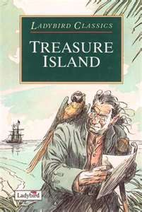 Ladybird Classics Book Treasure Island. I remember reading this as a child. In fact, I remember this exact cover!