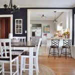 Beth's New-Meets-Old Beach Cottage Inspired Bungalow — House Tour | Apartment Therapy. color: grey, navy...good flow