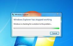 """How to Fix """"Windows Explorer has stopped working""""  - http://www.wcloudtech.com/how-to-fix-windows-explorer-has-stopped-working/"""
