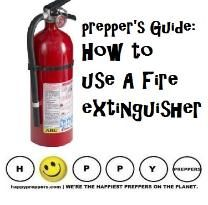 Preppers guide: how to use a fire extinguisher Disaster Preparedness, Survival Prepping, Survival Skills, Camping Survival, Best Gas Mileage, Emergency Preparation, Emergency Supplies, Urban Survival, Fire Extinguisher