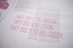 Bedstuy Records - Promotional Magazine. Via Fonts in Use