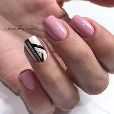 Nail Arts Fashion Designs Colors and Style Shellac Nail Designs, Shellac Nails, Gel Manicure, Pink Nails, Nail Art Designs, Acrylic Nails, May Nails, Hair And Nails, Nail Games