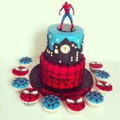 Spider-Man cake ..