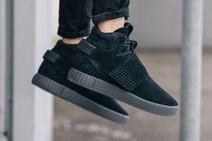 adidas Tubular Invader Strap 'Triple Black' - EU Kicks: Sneaker Magazine
