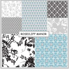Rosecliff Manor on Sale now at discoverfabric.com http://www.discoverfabric.com/3m5/fabric/by-collection/rosecliff-manor.html