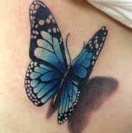 Bildergebnis für realistic butterfly tattoos