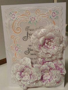 Vellum card heartfelt creatuons card