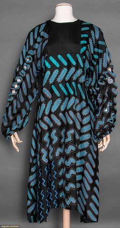 Zandra Rhodes Slashed Dress, 1970s, Augusta Auctions, April 8, 2015 NYC