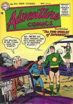 Cover for Adventure Comics (DC, 1938 series) #218 ____ VI ____