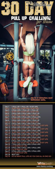 The 30-Day Pull Up Challenge for Women