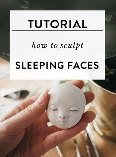 Most recent Absolutely Free Clay sculpture tutorial Suggestions How to sculpt sleeping faces. Art doll sculpting tutorial by Adele Po. Polymer Clay Kunst, Polymer Clay Sculptures, Polymer Clay Dolls, Polymer Clay Crafts, Sculpture Clay, Polymer Clay People, Art Sculptures, Ceramic Sculptures, Clay Crafts For Kids