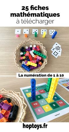 Math Literacy, Montessori Activities, Kindergarten Math, Activities For Kids, Hansel Y Gretel, French Classroom, Simple Math, Free Math, Math Resources