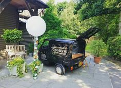 Prosecco Van for hire. Our Fizz Van all ready for Tanya Bardsley's baby shower on The Real Housewives of Cheshire.  Perfect for weddings, parties, corporate events & festivals.