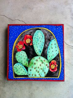 painting of cactus - Google Search