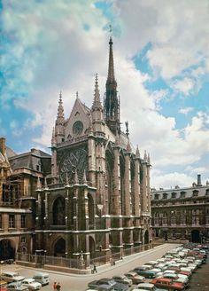 Sainte-Chapelle, Paris, 1241-1248