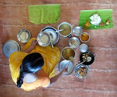 Tamil traditional Indian cuisine