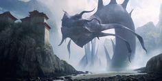 Leviathan, Richard Wright on ArtStation at https://www.artstation.com/artwork/d4elJ