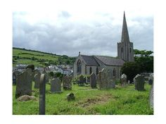 Church in the Glens of County Antrim, Ireland