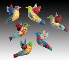 Whimsical Hummingbirds by Cathy Kiffney