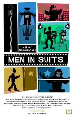 Men in Suits, A Documentary on the History & Art of Monster Suit Acting