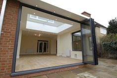 Love the massive roof light Conservatory with lantern roof Orangery Extension, Roof Extension, Glass Extension, Extension Ideas, Extension Google, Bungalow Extensions, Garden Room Extensions, House Extensions, Roof Lantern