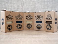 Irish Soap Collection All Natural Soap Handmade in Ireland Patchouli Oil, Patchouli Essential Oil, Lemongrass Essential Oil, Tea Tree Essential Oil, Irish Coffee, Irish Whiskey, Coffea Arabica, Soap On A Rope, Coffee Soap