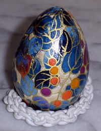 Washi Egg, this year's Easter egg :)