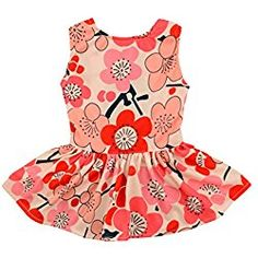 Dog Dress dog easter dress Doggie Sundress Pet Clothes Dog's Princess Dresses Puppy Skirt DR01S