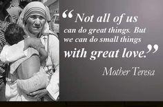 She was a saint regardless of her faith