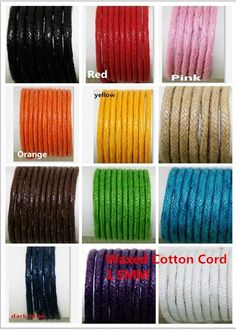 Cheap string rock, Buy Quality string standard directly from China string silencer Suppliers: 20Meters 1.5mm Multi Colors Waxed Cotton Cord String For bracelet Necklace DIY Jewelry Cord AE01203US $ 1.09/pack10Pcs 4