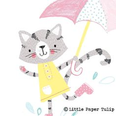 Another character for @peppyinkdesign. You can buy some of my work from their website on the 5th May. http://www.peppyink.com  #cat catillustration #cats #rain #umbrella #illustration #cute #illustratorsoninstagram #character #characterdesign #characterillustration #childrenswear #childrensprints #kidsprints #kidsfashion #kidsillustration #summer16 #artlicensing #licensing #photoshop #design #drawing #digitalart #print #prints #fashion #littlepapertulip #art #design #markmaking