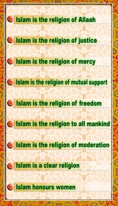 the misconceptions of islam are based off of muslims like myself who arent perfect  trust me islam denounces racism  denounces causing terror  islam promotes animal rights,  rights to the needy, empowers and honours women as all of them are priceless treasures in islam.