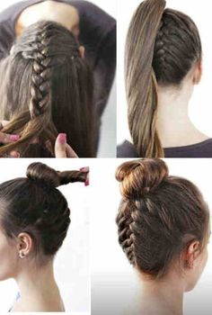 Actually hairstyles easy are not always too blunt and dull for formal occasions. Some of easy hairdos really look sophisticated and trendy even in simple way. A quick time styling may set some restrictions on variability of hairstyles, however you can also afford plenty of gorgeous hairdos despite the fact that you do it in