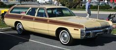 1972 Dodge Woodgrain Monaco