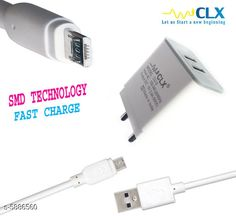 Mobile Chargers Mobile Charger Product Type : Mobile Charger Material : Plastic  Size : Free Size Type :  Dual USB Data Charger Model : CU-2 Description : It Has 1 Piece Of Mobile Charger & 1 Piece Of Data  Cable Country of Origin: India Sizes Available: Free Size   Catalog Rating: ★4.2 (423)  Catalog Name: Unique Mobile Charger Vol 10 CatalogID_888801 C99-SC1381 Code: 352-5886560-