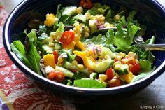 Keeping It Cozy: Mango Salad