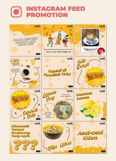 Food Graphic Design, Web Design, Food Poster Design, Graphic Design Posters, Food Design, Graphic Design Inspiration, Instagram Feed Planner, Instagram Feed Layout, Instagram Design