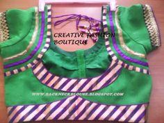 PIPING DESIGNS BLOUSE Blouse Neck, Saree Blouse, Piping Design, Patch Work Blouse Designs, Neckline Designs, Designer Blouse Patterns, Blouse Models, Cute Blouses, Fashion Boutique