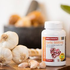 Garlic is a common household ingredient, but did you also know it's benefits can be enjoyed in supplement form too? Our capsules have been designed to provide high-quality nutrients without any unpleasant garlic smells or tastes. #garlic #food #tasty #health #healthy #healthyfood #healthyliving #healthylife #healthylifestyle #diet #nutrition #vitamins #minerals #supplements #product #spotlight #highlight #instapic #instagood #picoftheday #herbs