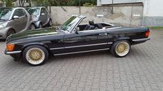 Mercedes 560 SL R107 W107 H-Zulassung Klassiker BBS Tiefschwarz in Auto & Motorrad: Fahrzeuge, Automobile, Mercedes-Benz | eBay