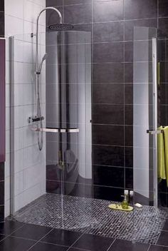 Salle de bain on pinterest deco merlin and showers for Salle de bain 6m2 douche a l italienne