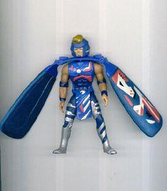 Vtg Galoob 1995 DRAGON FLYZ : Z'NETH Action Figure Free S/H USA! #Galoob