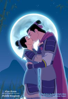 Mulan and Shang - I hope you can read. If you have questions, read the text on the image!....Perfect...just perfect. <2