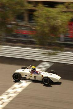 1961 Lotus racing over start finish line Monaco. Finish Line, Monaco, Race Cars, Lotus, Ireland, The Past, Racing, Classic, Drag Race Cars