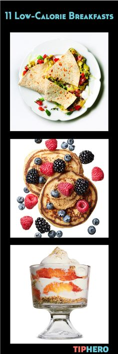 11 Low-Calorie Breakfast Recipes | What better way to start off your day than with a delicious breakfast that's low in calories and packed with healthy ingredients courtesy of Women's Health Magazine. From savory to sweet, these recipes are sure to make mouths happy! #family #cookinglight #healthymeals #brunch