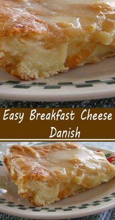 Breakfast Cheese Danish, What's For Breakfast, Breakfast Dishes, Breakfast Casserole, Christmas Breakfast, Fun Breakfast Ideas, Baked Breakfast Recipes, Easy Brunch Recipes, Breakfast Cereal