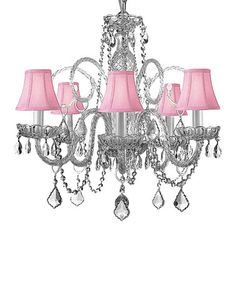 Look what I found on #zulily! Gallery Crystal Chandelier #zulilyfinds FOR THE GIRLS ROOM!!!