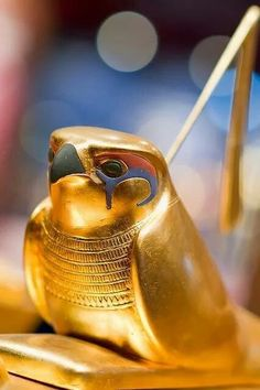 Horus - Tutankhamun treasures (Egypt, ca. Egyptian Mythology, Ancient Egyptian Art, Ancient History, Art History, European History, Ancient Aliens, Ancient Greece, Egyptian Goddess, American History